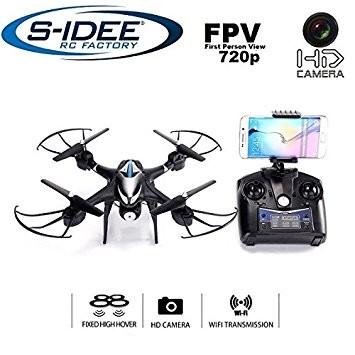 s-idee® 01606 S30CW Quadrocopter Wifi verstellbare HD Kamera über den Sender FPV Höhenstabilisierung